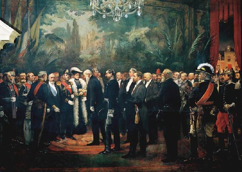 Пребывание царя и царицы в Компьене 18 21 09 1901