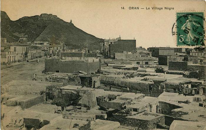Оран негритянская деревня2