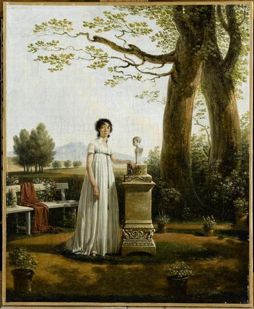 Буае кристина перв жена Люсьена Бонапарта  в Плесси-Шарман 1799  Ж Сабле Дворец Фош