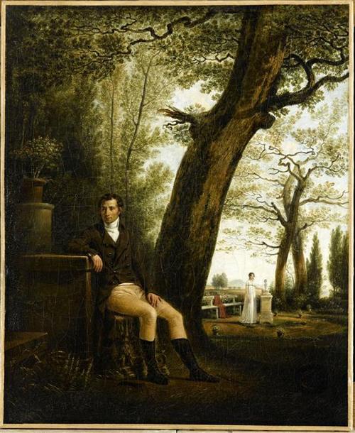 Бонапарт Люсьен в Плесси-Шарман ок 1800 Ж Сабле Дворец Фош