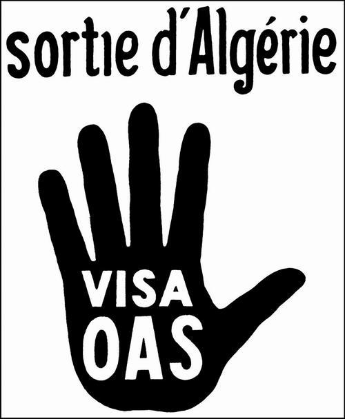 ОАС выход из Алжира виза ОАС