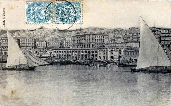 Алжир порт 3