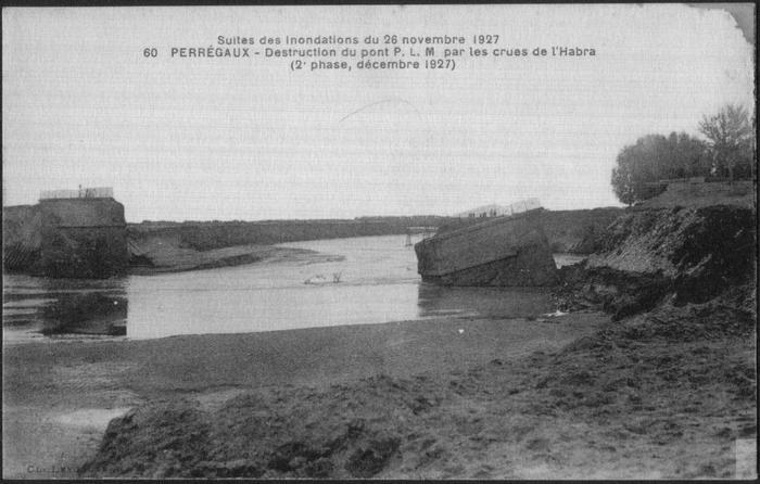 30 Перрего Мост разрушен