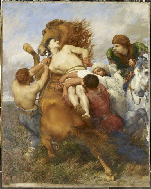 002 Мазеппа 1872 Луи Гесне Мюзей д Орсе