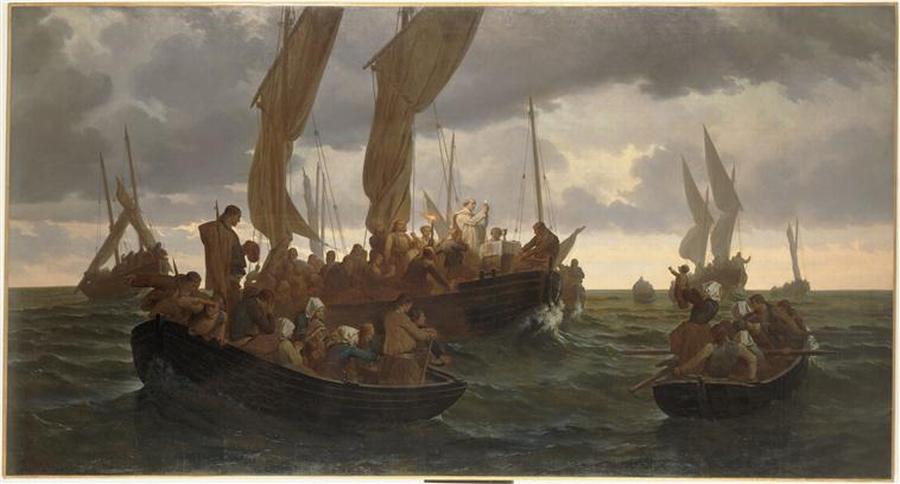 Месса в море 1864 Л Дюво Муз из ис Ренн