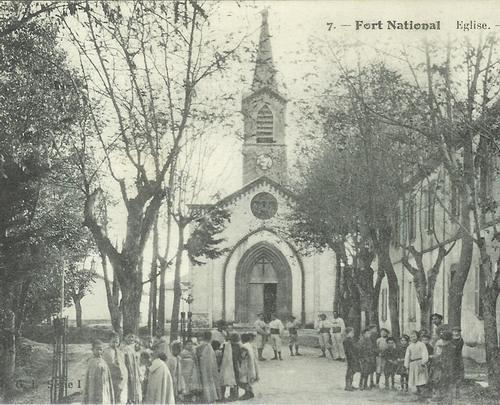 Форт Насьональ церковь