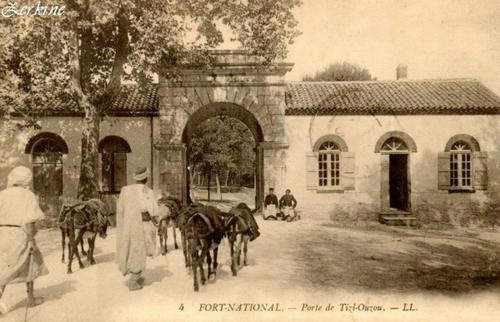 Форт насьональ Ворота Тизи узу