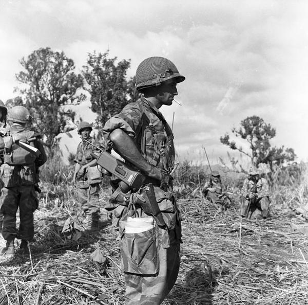Кабиро кап 4 роты 1 БЕП дек 1953 Ж Перо