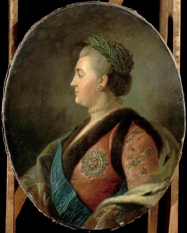 Catherine 18 в фр худ ор Ротари Версаль