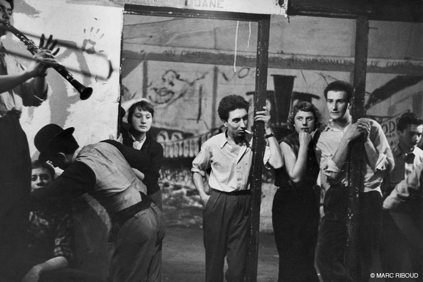 париж 1953 07 молодежь