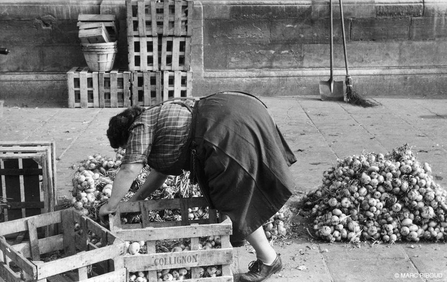 париж 1953 12 торговка