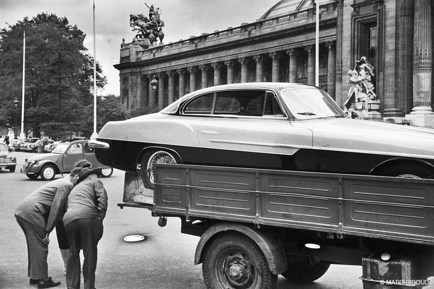 париж 1953 18 новая машина