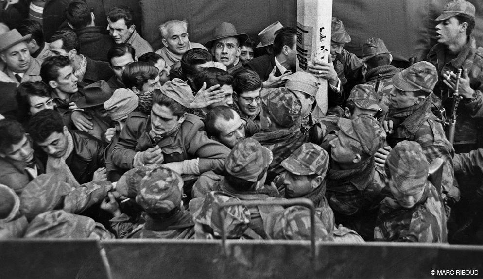 Неделя баррикад парашютисты 1960 янв
