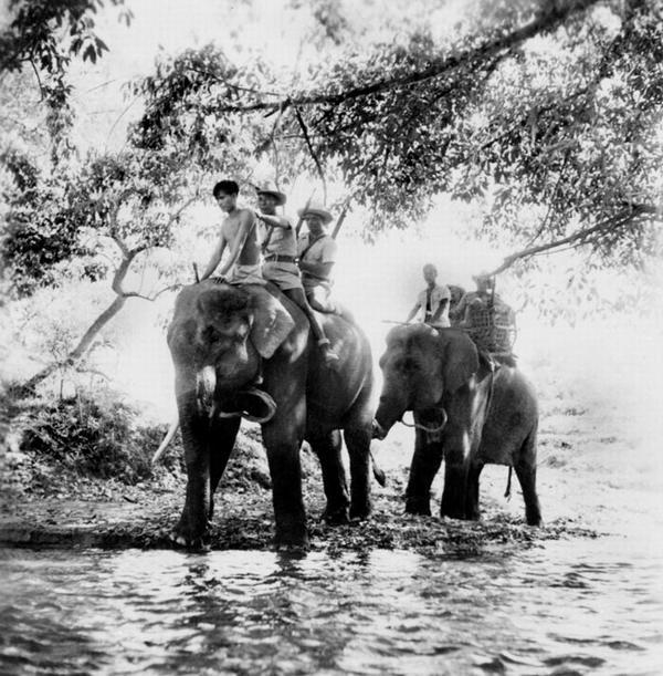 патруль переходит реку апр 1952