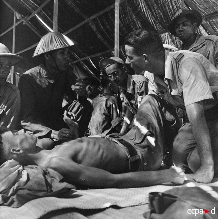 Осв фр узников в обмен на вьетн 13 14 июля 1954 Risser