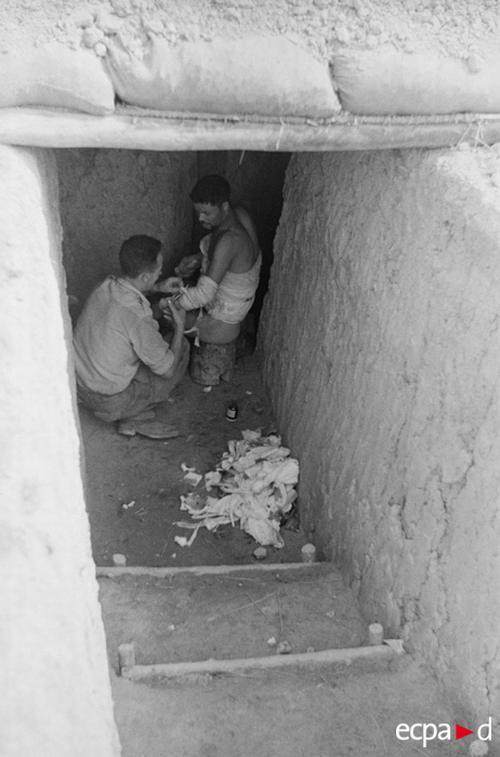 Уход за раненым 25 марта 1954 камю перо