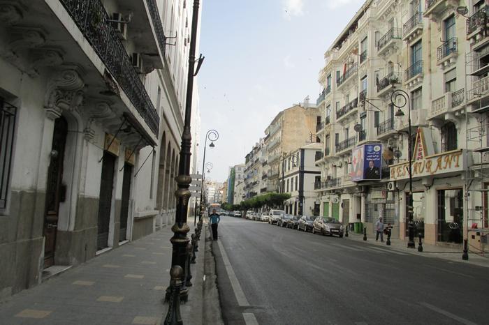 Алжир утром