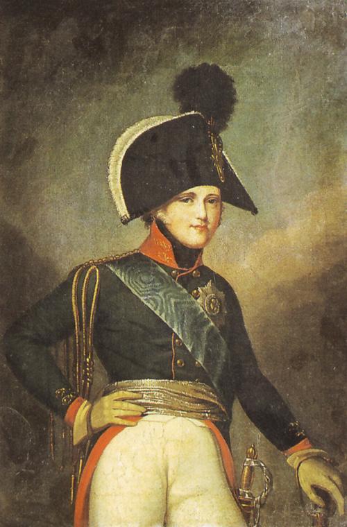 Alexandre 1801 1805 Кюгельхен Рус музей