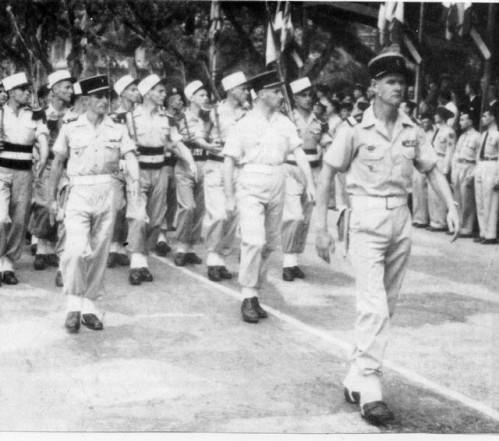 05 Сен Марк во главе индокит роты 2 БЕП 1952