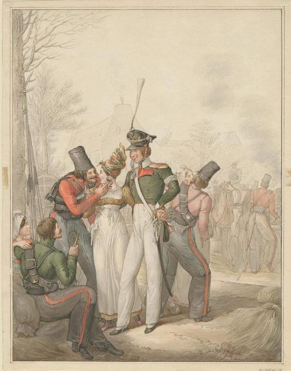 Russian troops in Germany, c. 1813     OPIZ1813