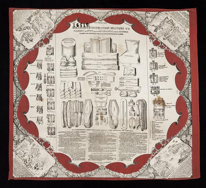 Носовой платок с инструкц 19 в Муз армии 08