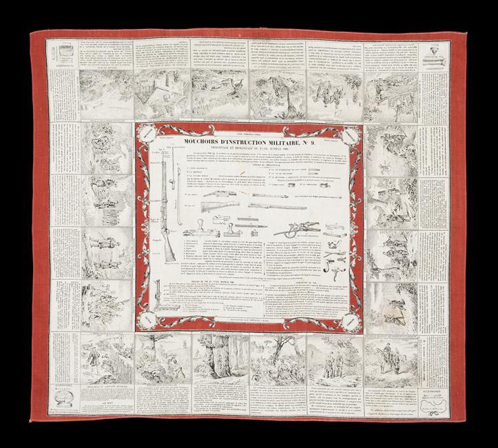 Носовой платок с инструкц 19 в Муз армии 09