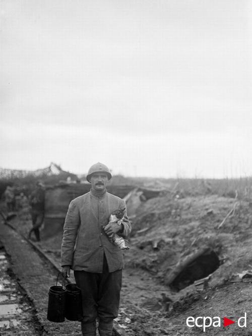 Повар разн суп по окопам и его кот 1 дек 1917 Ж Ридель