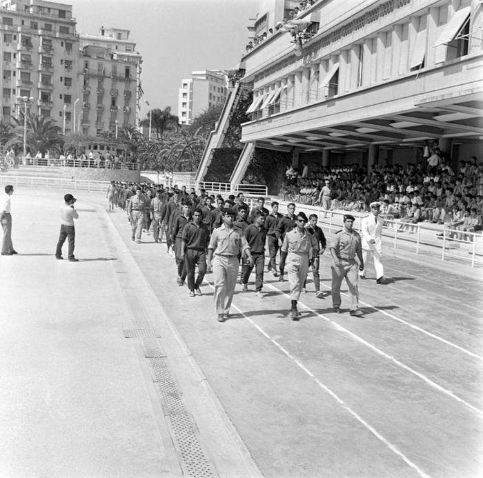 Открытие финала июль 1959 Марк Фландруа