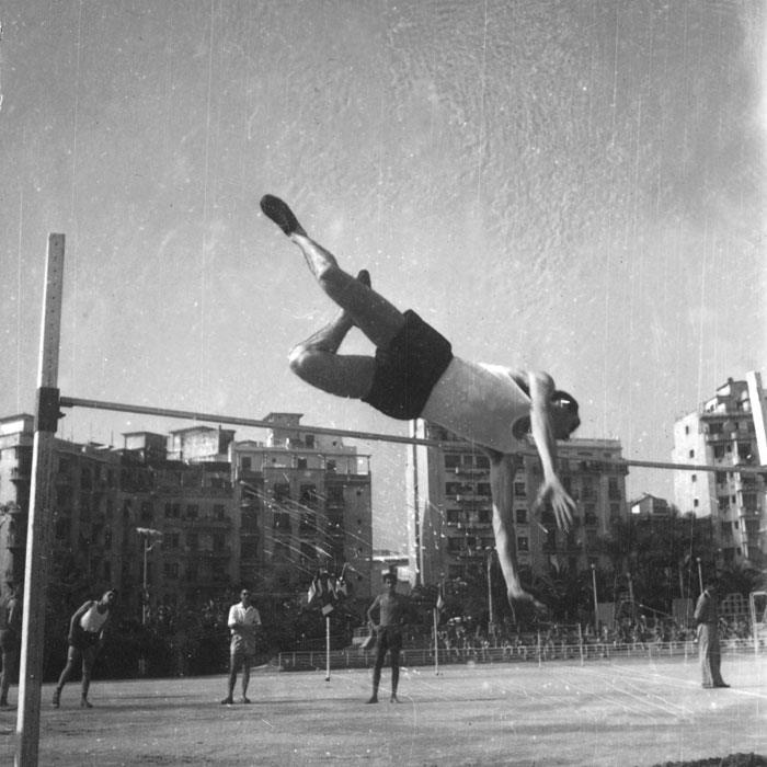 Прыжки в  высоту 1июль 1959