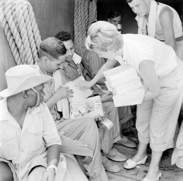 Пленные осв в обьмен на вьет солдат июль 1954 Ж Фернан
