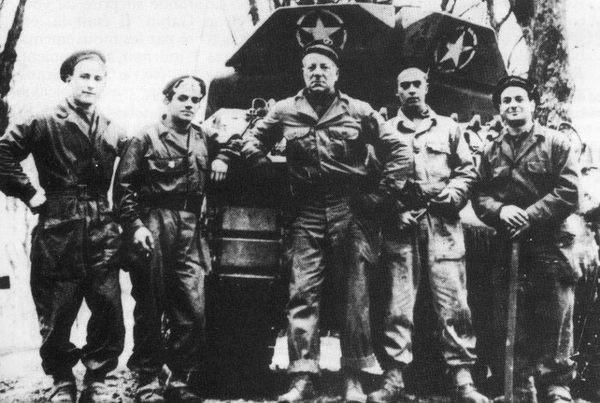 Габен водитель танка Суффлер 2