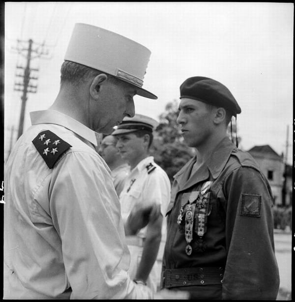 де Латтр нагр Вандена июнь 1951