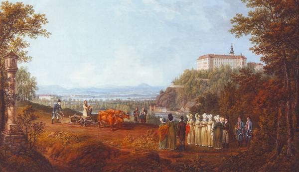 Alexandre 1815 у Глубоки пашет 1816 Ф Рунк Глубока