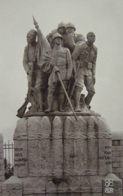 Реймс памятник черной армии2