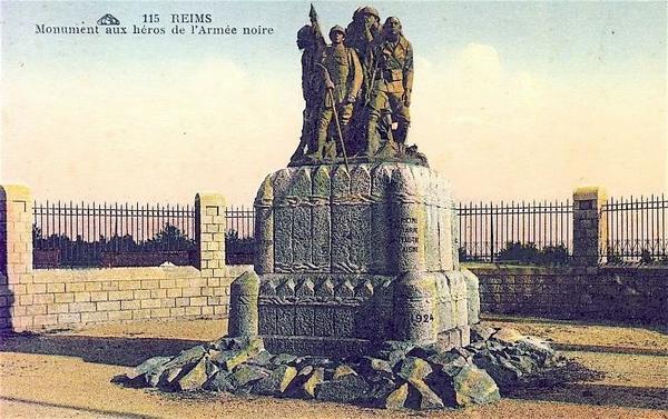 Реймс памятник черной армии3