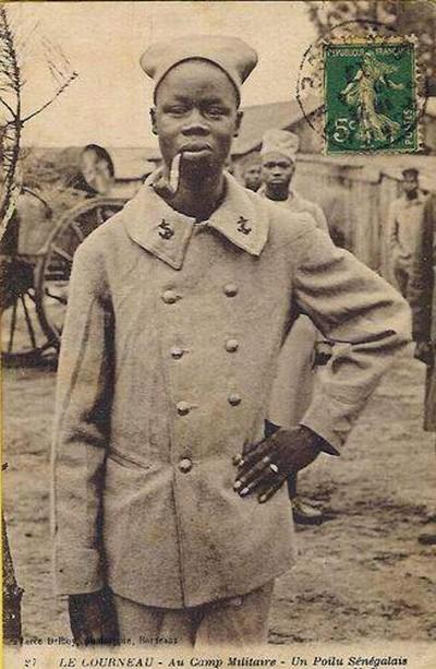 Сенегалец ветеран