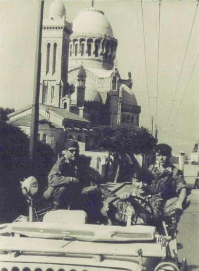 Патруль в г Алжир 1957
