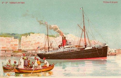 01 Алжир порт корабль