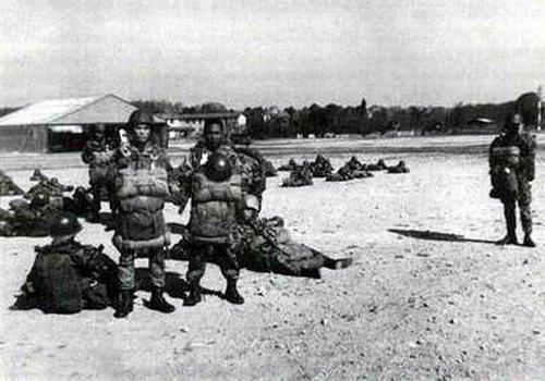 Тренировка Бискра июль 1958