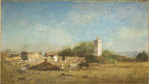Привал неподалеку от Орана 19 в Фромантен Сент Музей епископства
