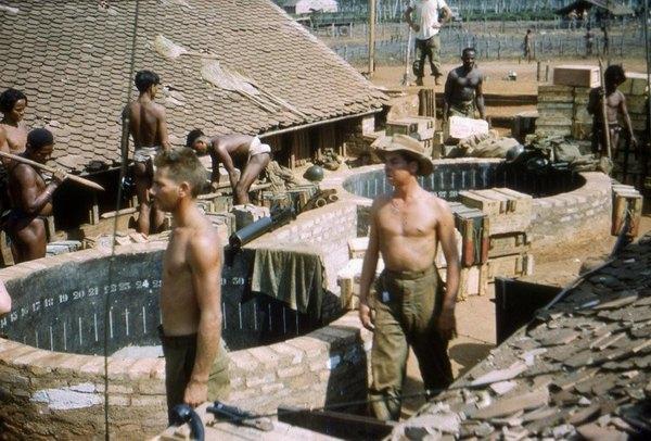 Дак Доа колодцы для минометов