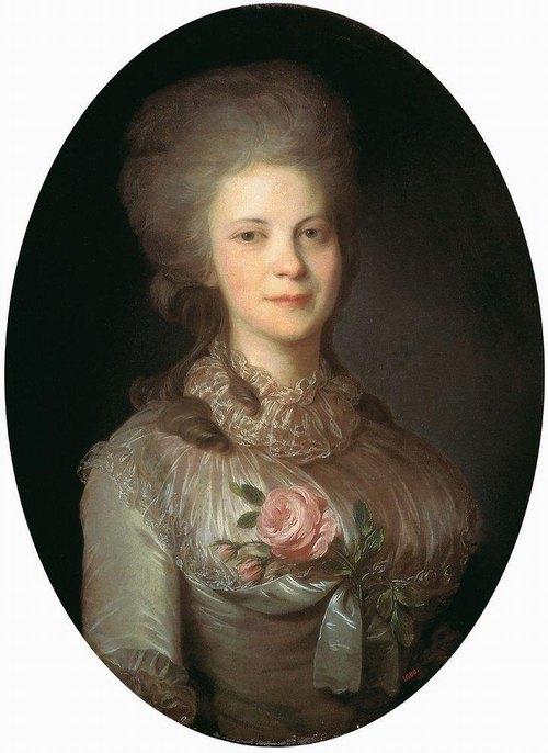 Суровцева Варвара Николаевна 1780-1790 Рокотов Трет