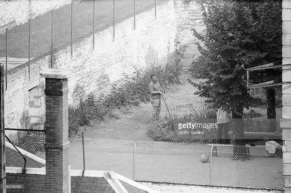 Шалль в тюрьме Тюлляиюль 1961