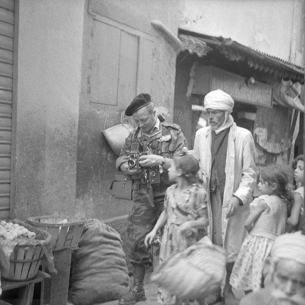 Михайловски Сигизмунд в касбе Константины июнь 1958