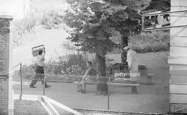 Шалль в тюрьме в Тюлле 4 июля 1961