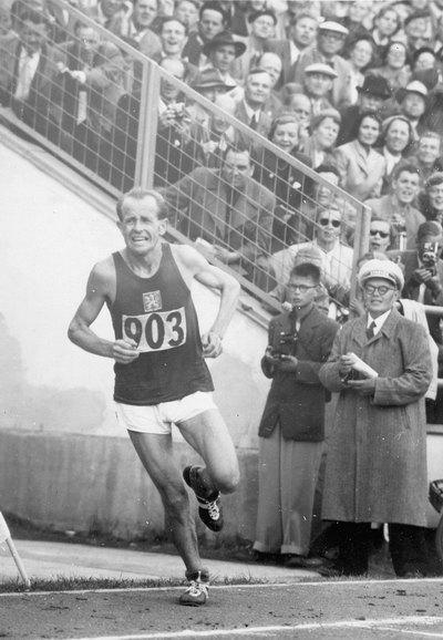 Затопек Эмиль Марафон 1952 ол игры Хельсинки