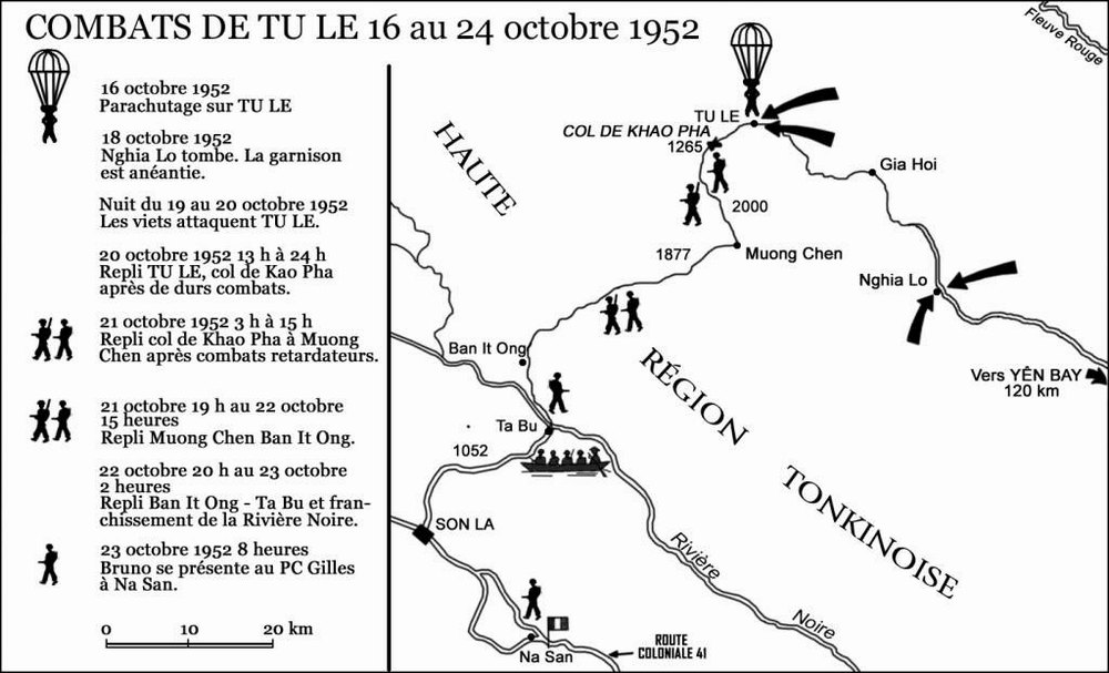 Тю Ле окт 1952 карта