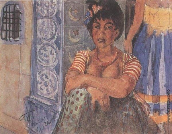 Алж женщина 1907