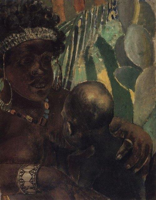 негритянка 1907