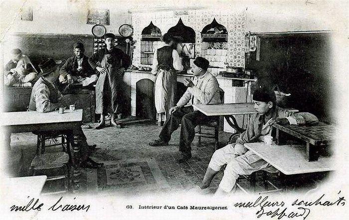 Интерьер мавританского кафе